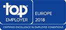Top Employer Europe 2018