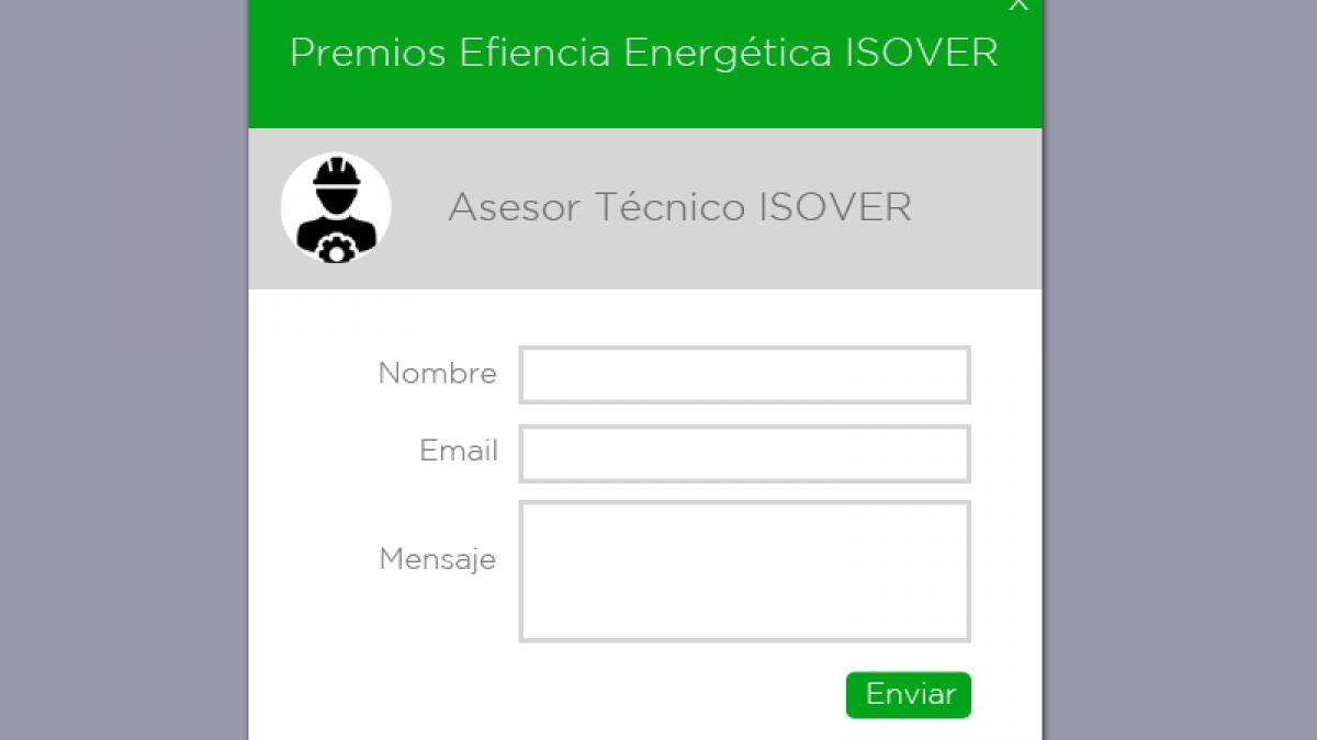 Consultas Premios Eficiencia Industrial ISOVER