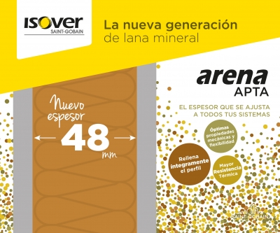 ISOVER lanza arena APTA 48