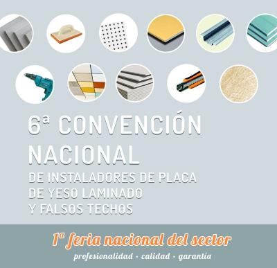 6ª Convención nacional de instaladores de yeso laminado y falsos techos