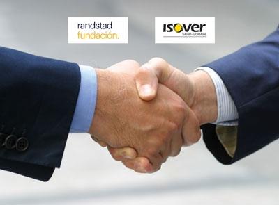 ISOVER renueva su acuerdo de colaboración con Fundación Randstad para la inserción sociolaboral de profesionales con discapacidad