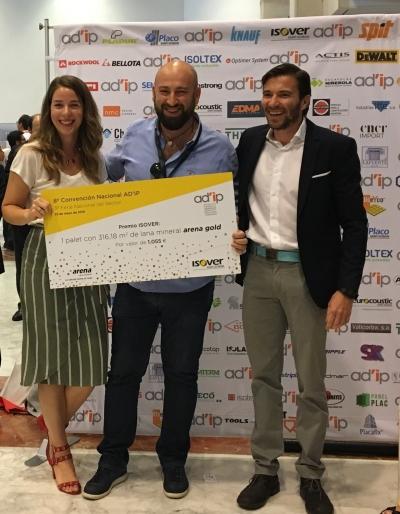 8 Convención ADIP y 3 Feria  Premio Palet Arena Gold - 1