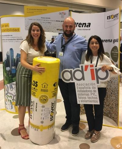 8 Convención ADIP y 3 Feria  Premio Palet Arena Gold - 2