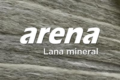 Lana mineral arena, lo natural contra el ruido