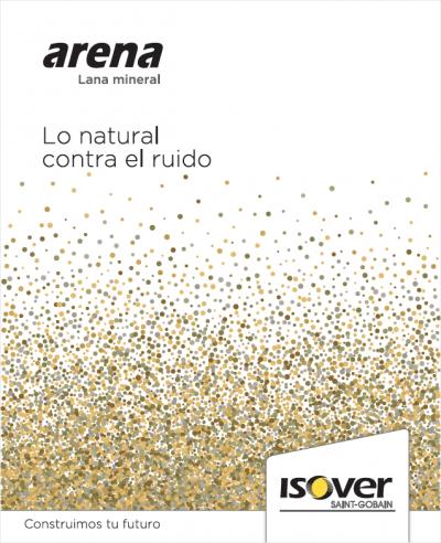 Arena, lo natural contra el ruido