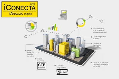 Nueva versión del complemento CE3X para ISOVER - iCONECTA con iANALIZA
