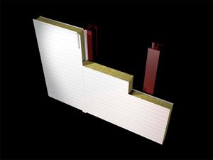 Cerramiento Vertical con Panel Sándwich
