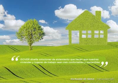 ISOVER apuesta por un futuro más sostenible