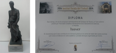 Diploma ETSEIB ISOVER