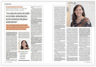 Entrevista Esther Soriano ISOVER Adip