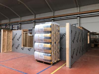 IPEMA apuesta por la solución arena APTA de ISOVER para su proyecto de vivienda modular industrializada