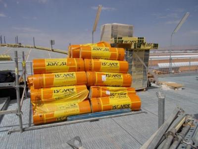 Aislamiento ISOVER planta solar Ouarzazate (Marruecos)