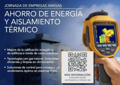 Jornada de Empresas Amigas: Ahorro de Energía y Aislamiento Térmico