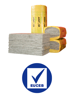 Las lanas minerales ISOVER están certificadas por EUCEB