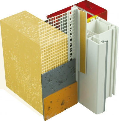 Ecosate® Perfiles PVC - Ecosate® Perfil Remate Ventana Vertical