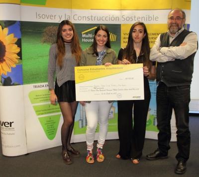 Ganadores primer premio Concurso Estudiantes Multi-Comfort House 2017 - Fase Nacional