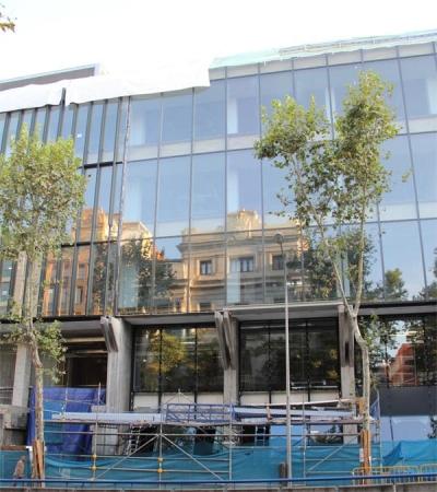 Rehabilitación de la antigua sede de Telefónica en Ríos Rosas Madrid