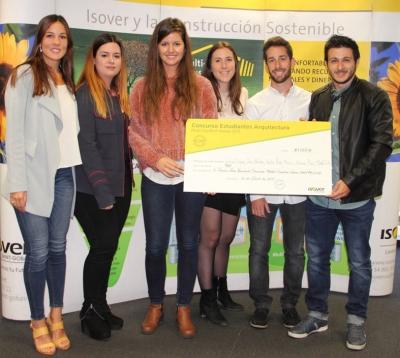 Ganadores Segundo Premio Concurso Estudiantes Multi-Comfort House 2017 - Fase Nacional