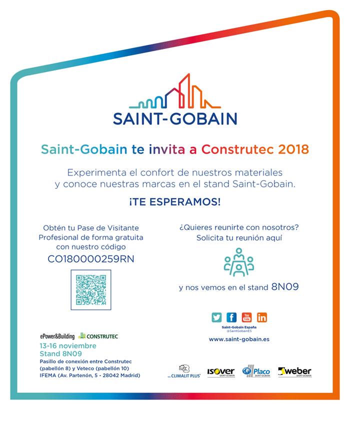 Invitación CONSTRUTEC 2018
