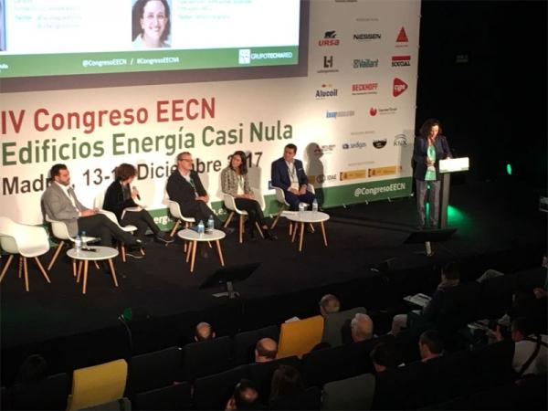 Mesa redonda sobre Confort, Salud y Calidad Interior en los edificios de consumo de energía casi nulo. Congreso EECN, Madrid, 13 y 14 de diciembre de 2017