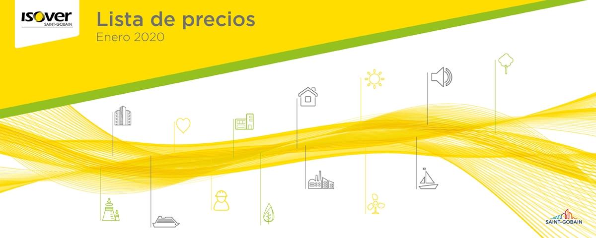 Lista de Precios ISOVER Enero 2020