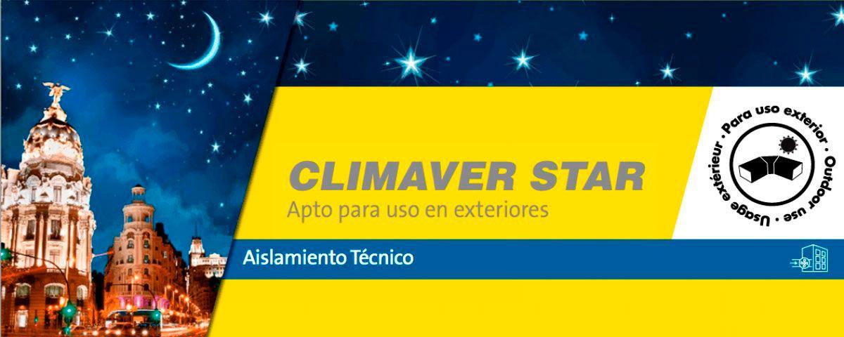 CLIMAVER STAR. Panel rígido de Lana de Vidrio ISOVER de alta densidad