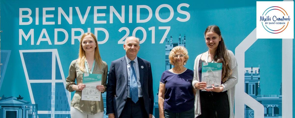 Primer Premio Concurso Estudiantes Multicomfort House Saint-Gobain - Madrid 2017