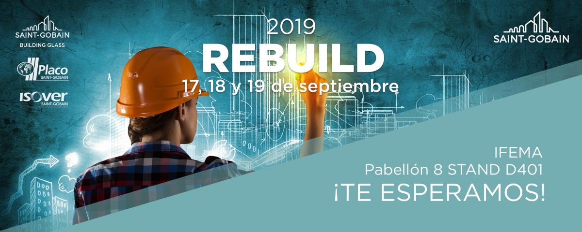 REBUILD, 17, 18 y 19 de Septiembre IFEMA