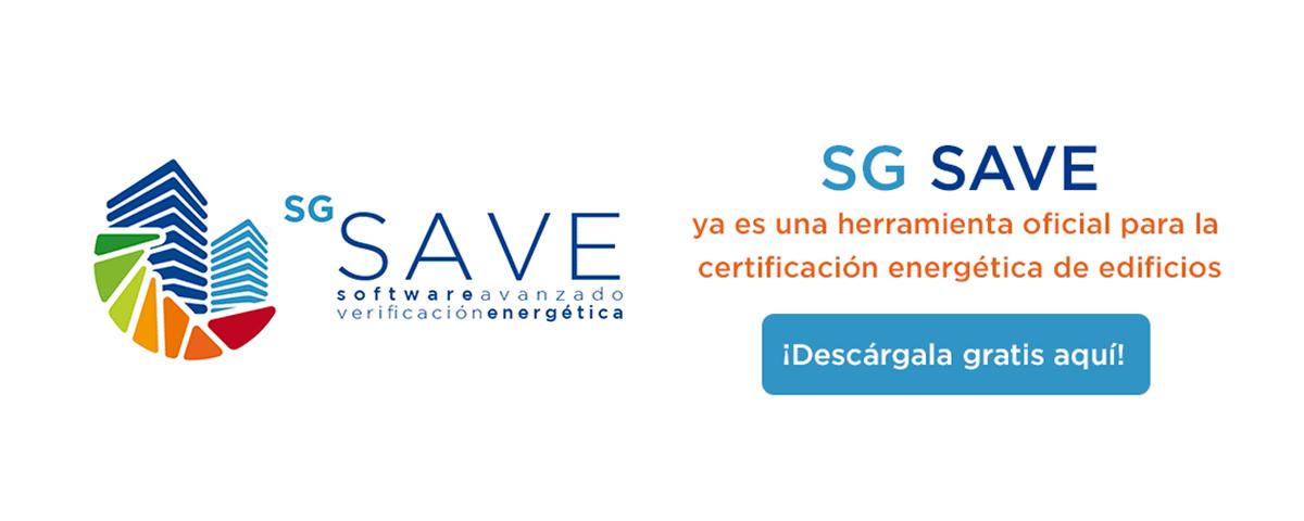 SG SAVE ya es una herramienta oficial para la certificación energética de los edificios