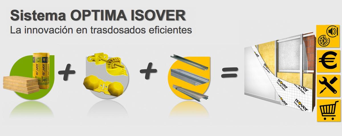 Sistema Óptima ISOVER. La innovación en trasdosados eficientes