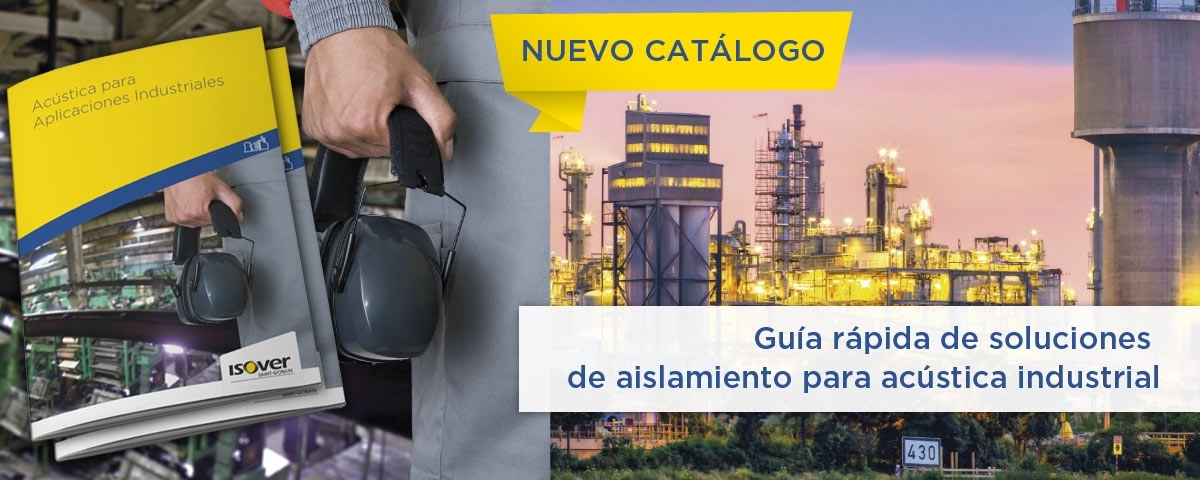 Acústica para aplicaciones industriales ISOVER
