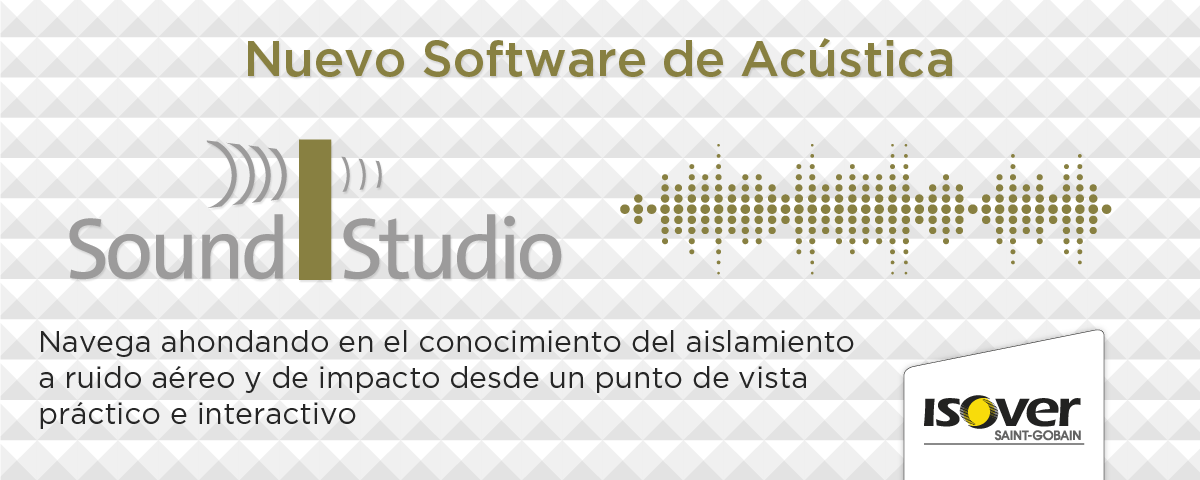 Nuevo software de acústica iSound Studio