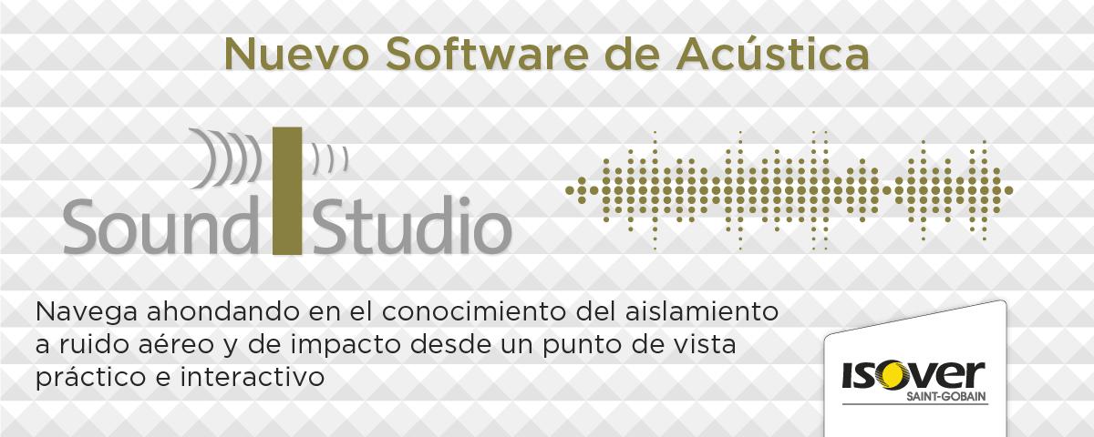 Nuevo software de acústica iSound Studio