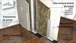 Aislamiento de tabiques con Lana Mineral Arena – Componentes de un tabique