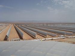 Planta solar Ouarzazate (Marruecos)