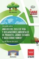 Jornada sobre análisis del ciclo de vida y declaraciones ambientales de producto