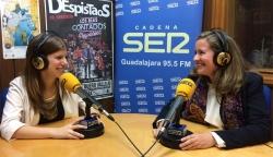 Entrevista en Cadena Ser Guadalajara a María Luisa Pérez de ISOVER