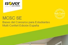ISOVER presenta el Concurso para Estudiantes Multi Confort Edición España 2021