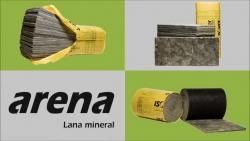 Lana mineral arena. ¿Qué producto arena debo elegir?