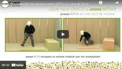 Recuperación de espesor arena APTA vs. Lana de Roca tradicional