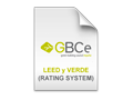 LEED - VERDE (RATING SYSTEM)
