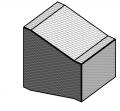 Reducción rectangular una cara