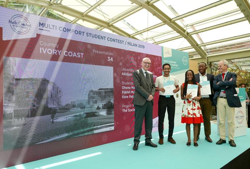 Concurso Estudiantes MultiComfort House 2019 - Fase Internacional 2019 - Segundo Premio Costa de Marfil