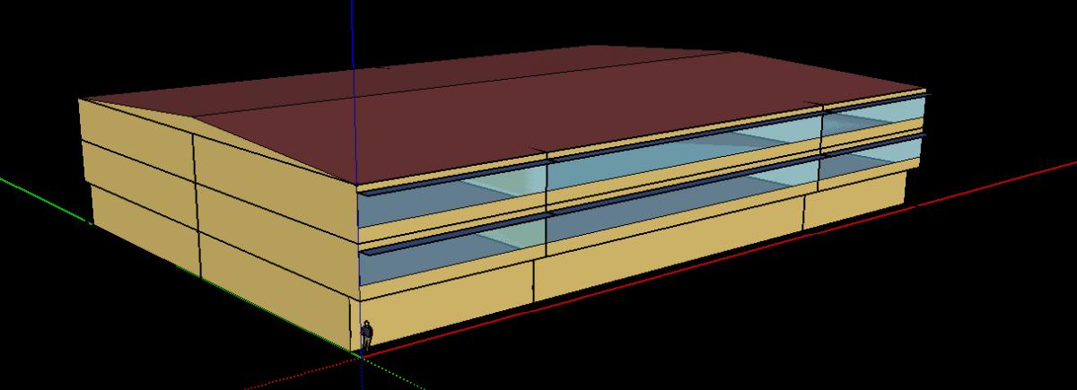 Edificio 3d con Sketchup
