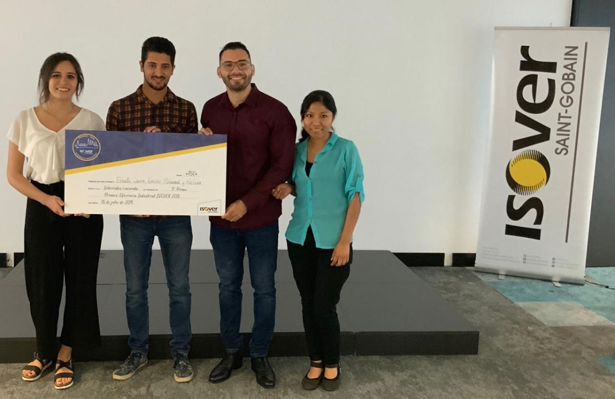 Tercer Premio: Aprovechamiento de gases calientes para refrigeración de viviendas