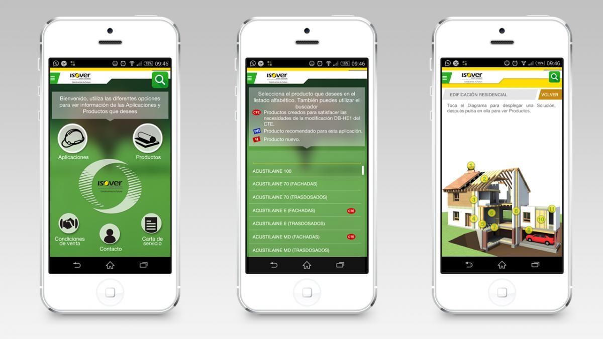 App 2.0 Soluciones de Aislamiento ISOVER