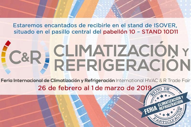 FERIA INTERNACIONAL DE CLIMATIZACIÓN Y REFRIGERACIÓN 2019