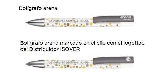 Bolígrafos arena