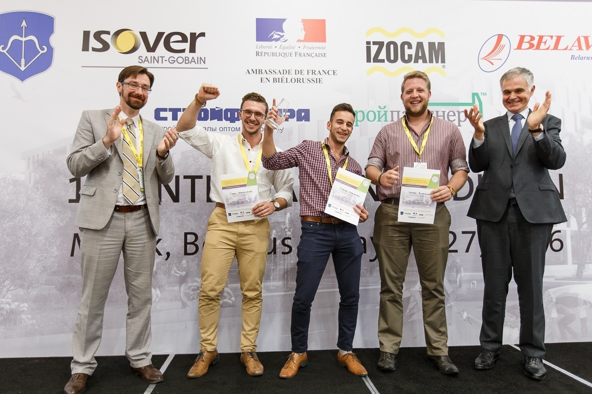 Ganadores del Segundo Premio del Concurso Internacional Multi-Comfort House ISOVER 2016