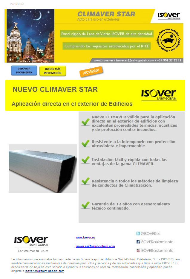 Nuevo CLIMAVER STAR